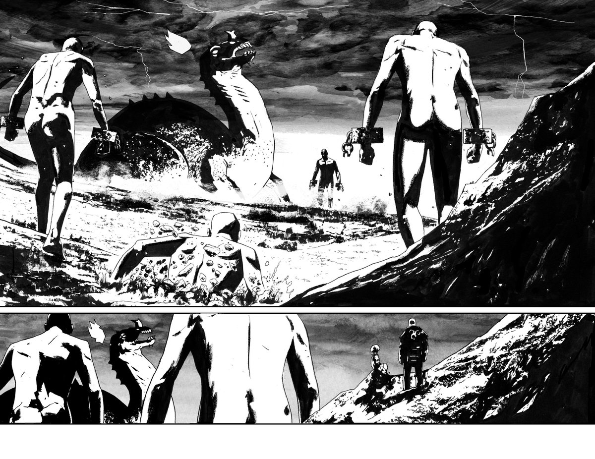 BPRD 146 out tomorrow. Here's a DPS from the previous issue. https://t.co/PHYVEhku3h