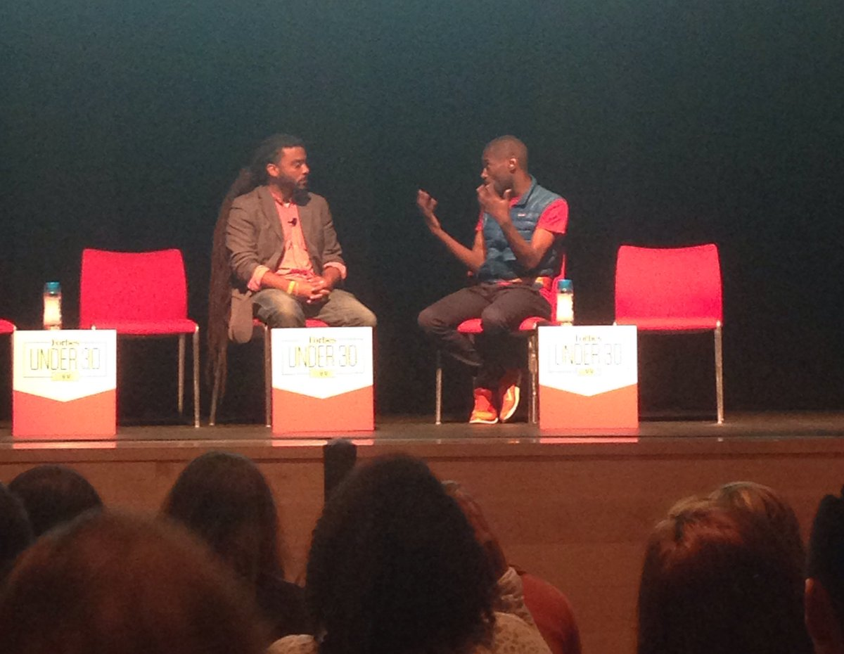 .@adamjohnfoss and @deray take the stage to talk about #BlackLivesMatter as a movement https://t.co/0i1RAZJPQn