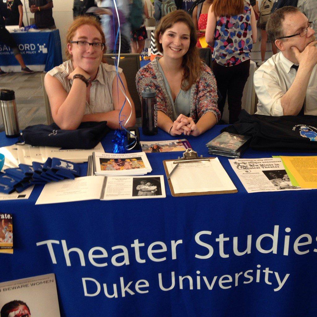 Duke Theater Studies on Twitter: