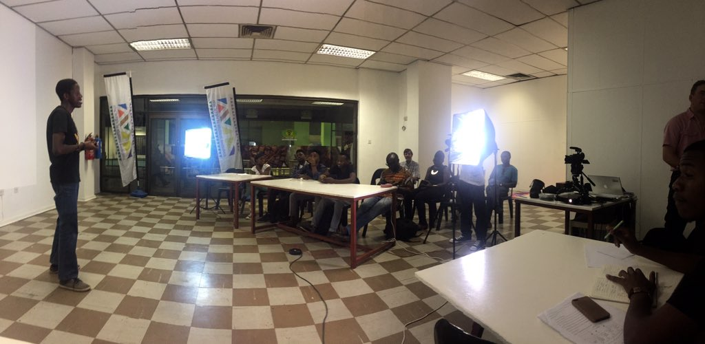 The action commences #i2m @TvYangu https://t.co/WWIL2E6DOo