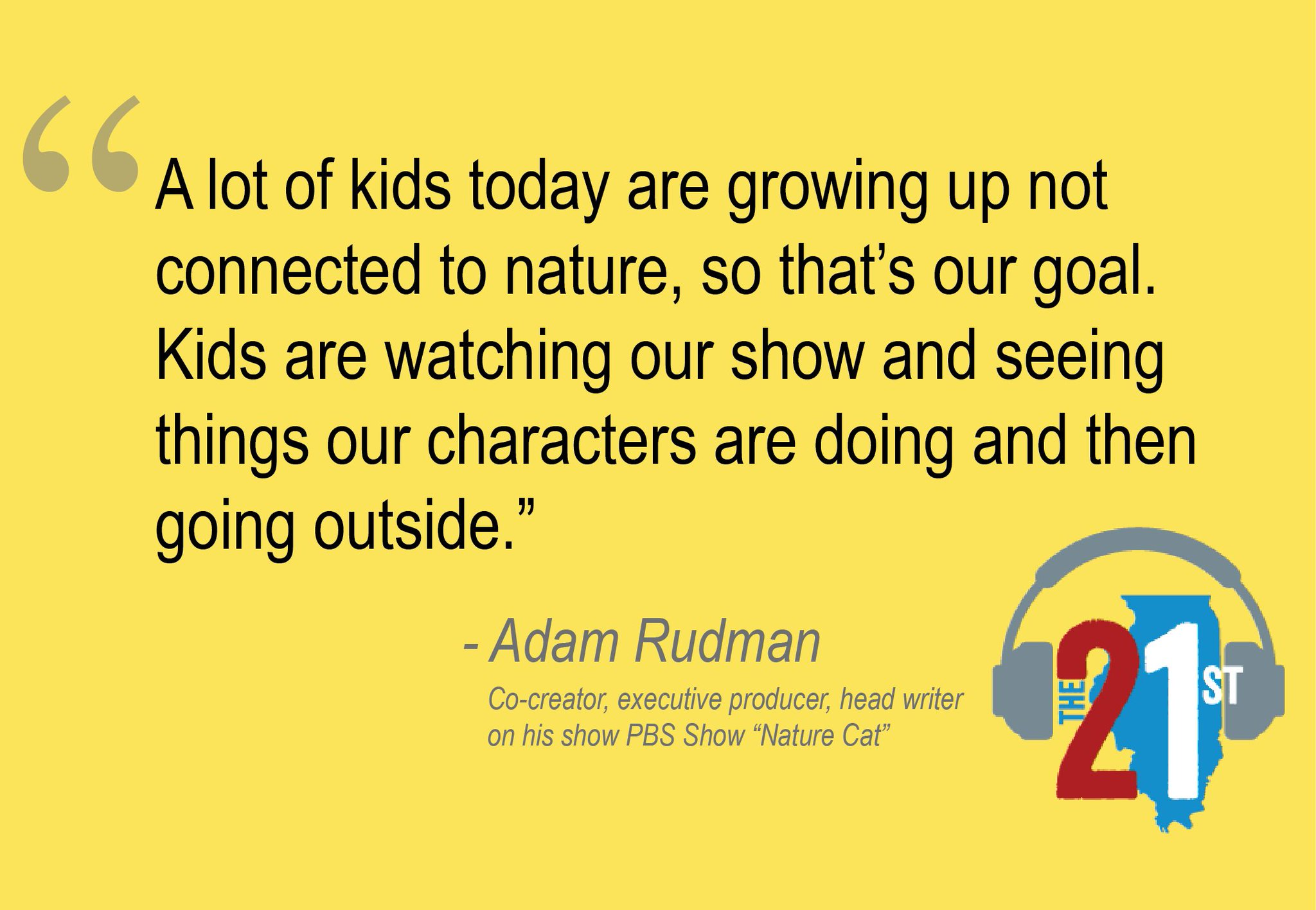 Co-creator Adam Rudman on the idea behind @NatureCatShow https://t.co/qKJRj7RYHh