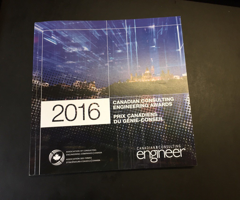 Canadian Consulting #Engineering Awards Gala next Tuesday! Visit https://t.co/2DmNCogbbs https://t.co/YygMqiNflG