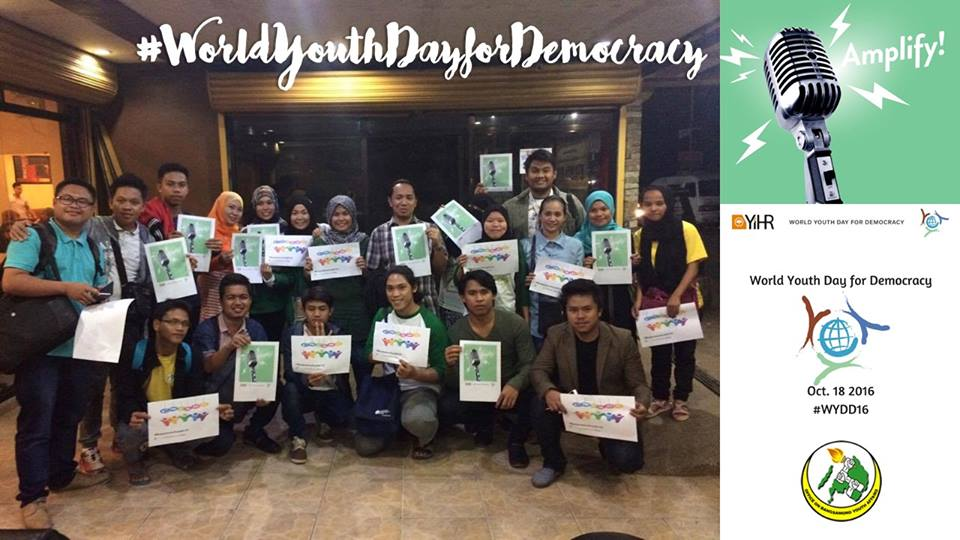 The Office of the Bangsamoro Youth Affairs celebrates World Youth Day #WYDD16 in Philippines! https://t.co/wh2ndTnZAd