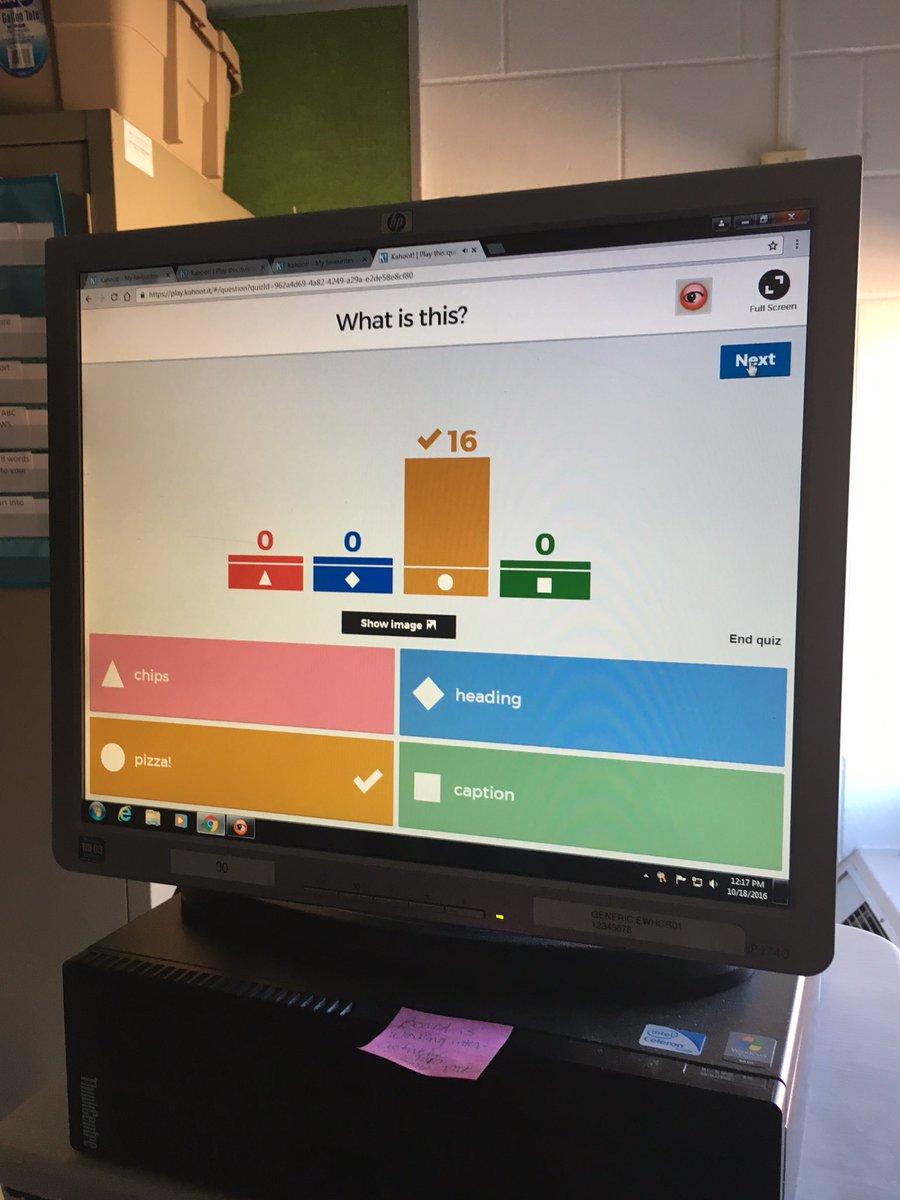 Formative assessment-digitally!!! Love KAHOOT! @PWhiteOaksES @CardwellTeachMe @laurayoakam @BeachSupe @MsMcKown15 @2ndGradeLife @kwsmead<br>http://pic.twitter.com/l8MHVAM4lh