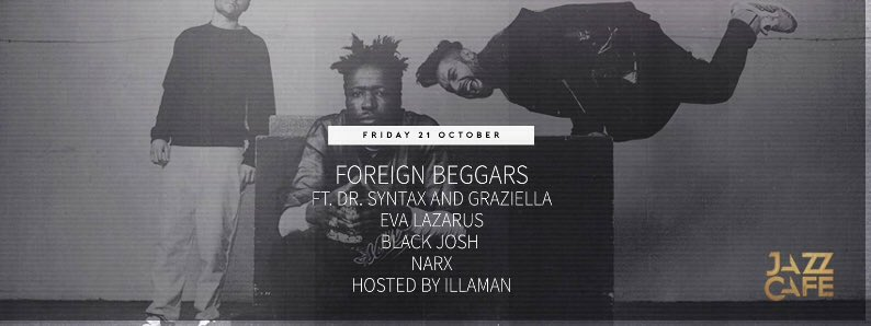 Beggars Brexit Bring-In >>this Friday, @TheJazzCafe  last tix available here https://t.co/jo50vzr8LT https://t.co/08GtxnCQLO
