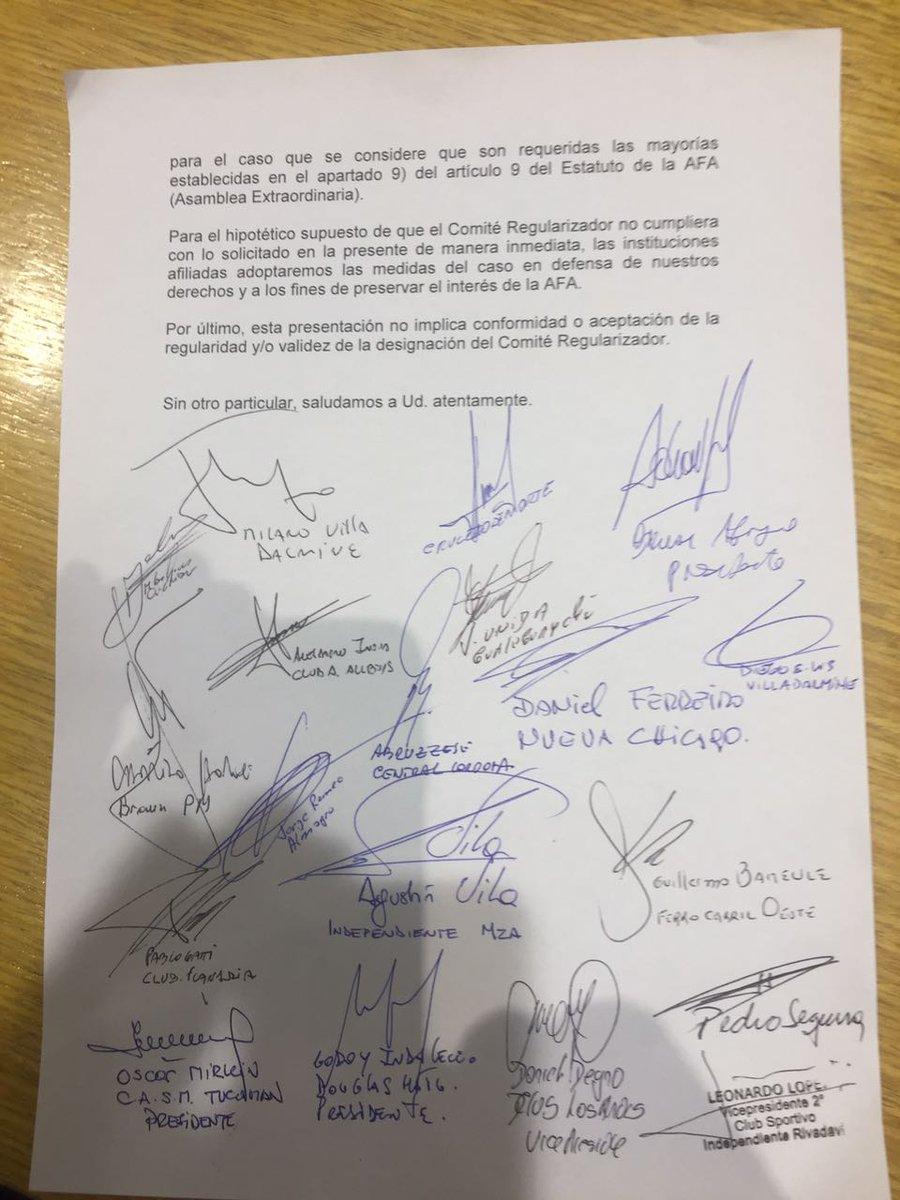 Ascenso del interior afa exigen elecciones y el final for Interior elecciones