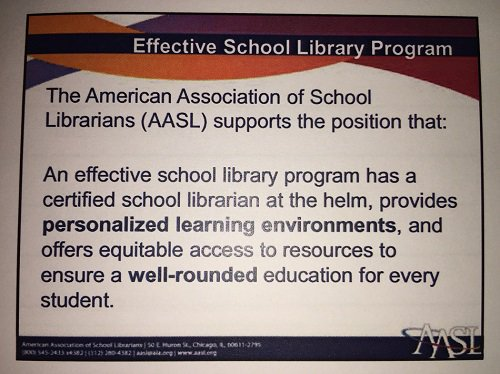 Q1: AASL says an effective library provides personal learning, equitable access, and a well-rounded edu. How do you support these? #mnitem https://t.co/V1WUvYEzRt