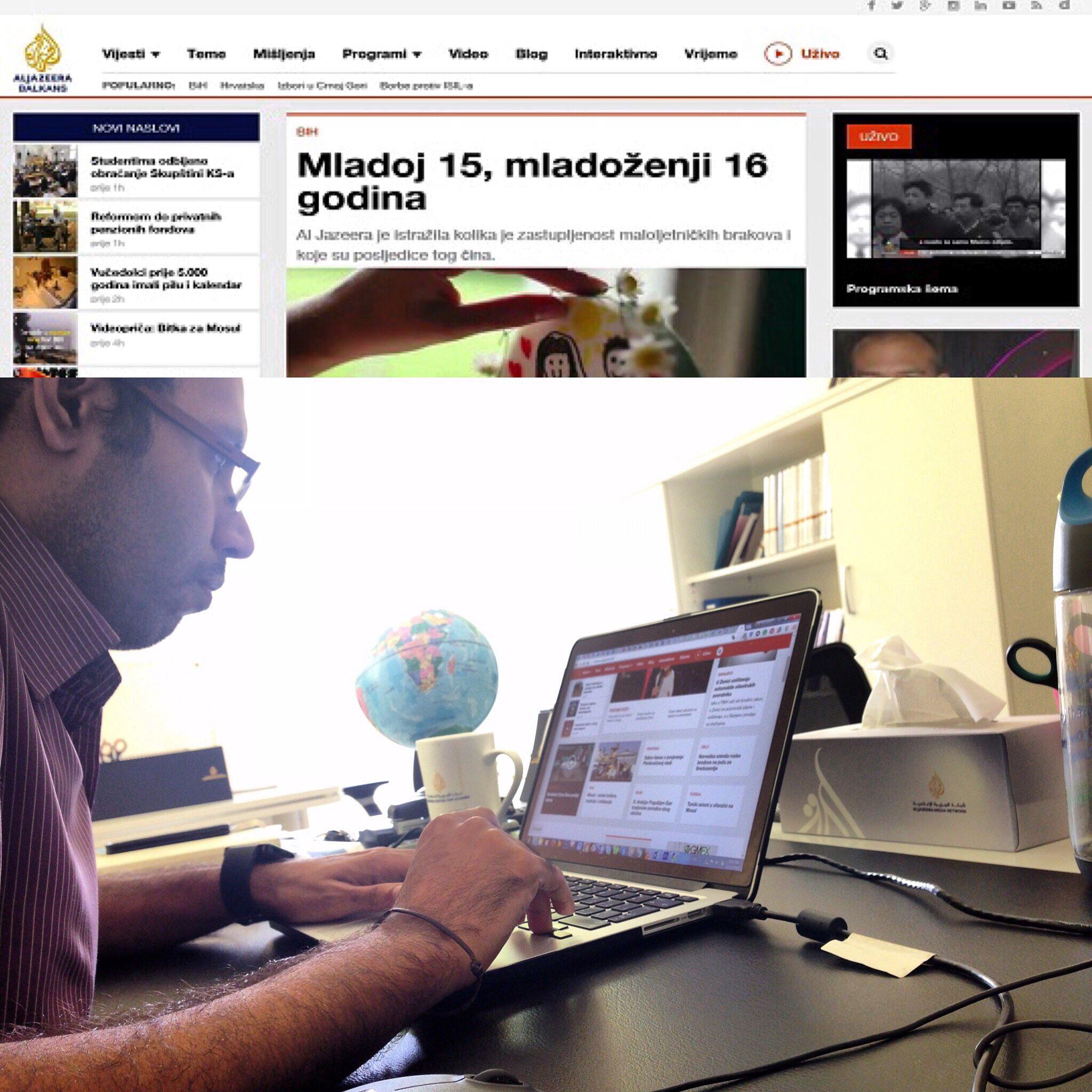 mohamed mahdy on twitter aljazeera balkans ajb launched its