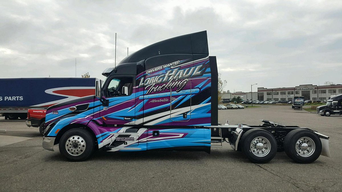 Another sweet design by Justin Paschke, one happy LHT driver left with it today! #AwesomeRide