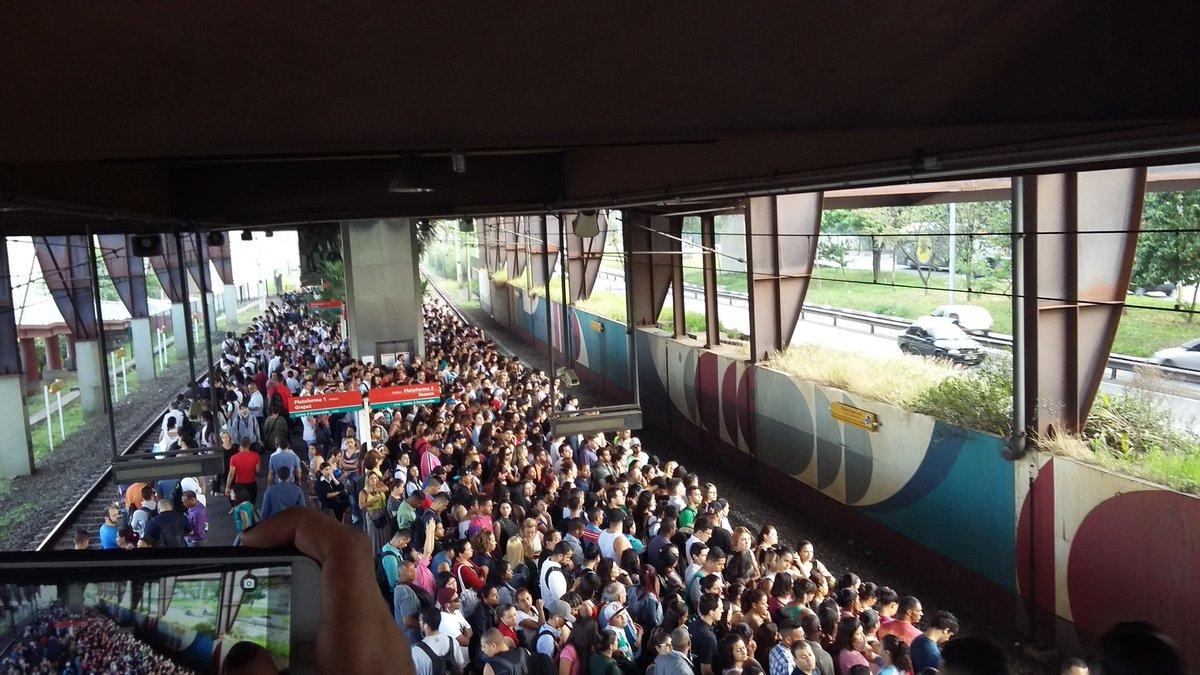 Estação Santo Amaro (Foto: Andressa Araújo)
