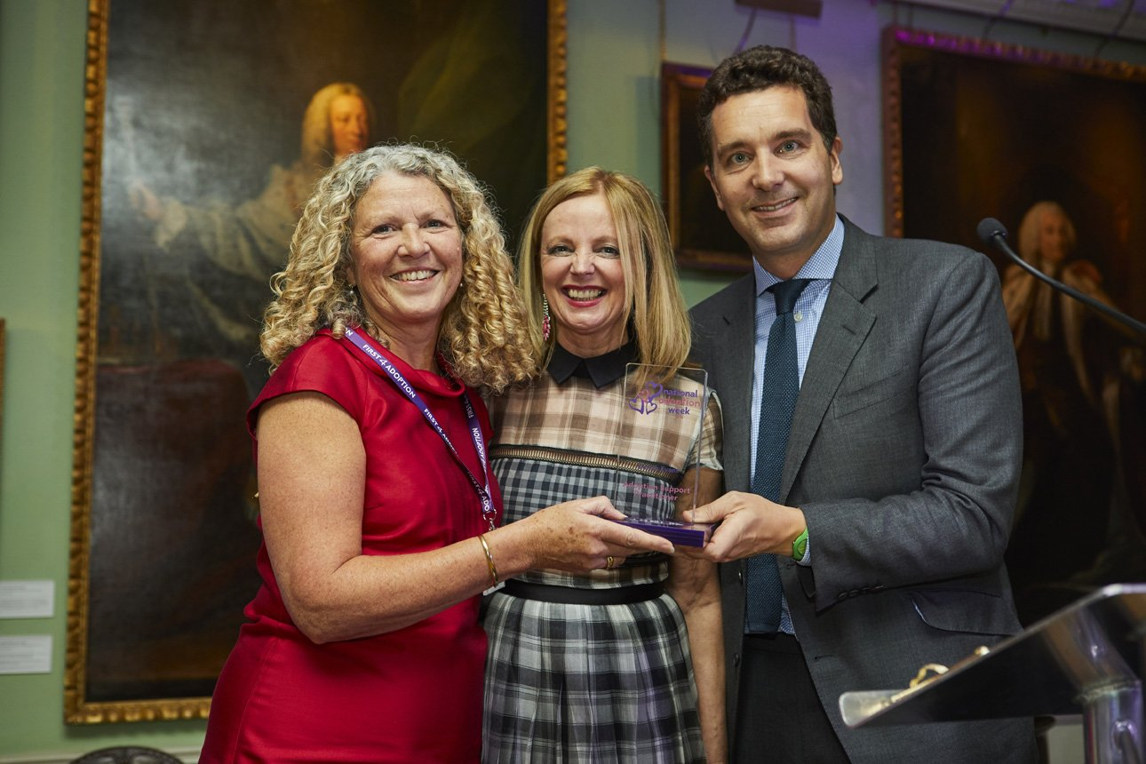 Congrats Delyth Evans @adoptionmatters Adoption Support Practitioner 2016  @claregrogan2 @edwardtimpson NAW Awards #SupportAdoption https://t.co/0y0zaJbJfR