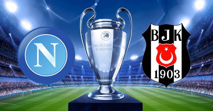 Dove vedere NAPOLI BESIKTAS Streaming