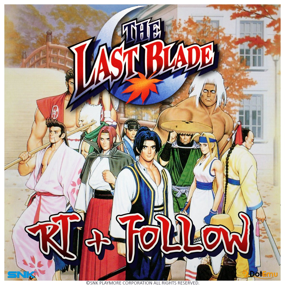 It's #giveaway time!  Follow + RT this tweet before the 10/24 and get a chance to win THE LAST BLADE on Steam! https://t.co/PR7ORq9SPC