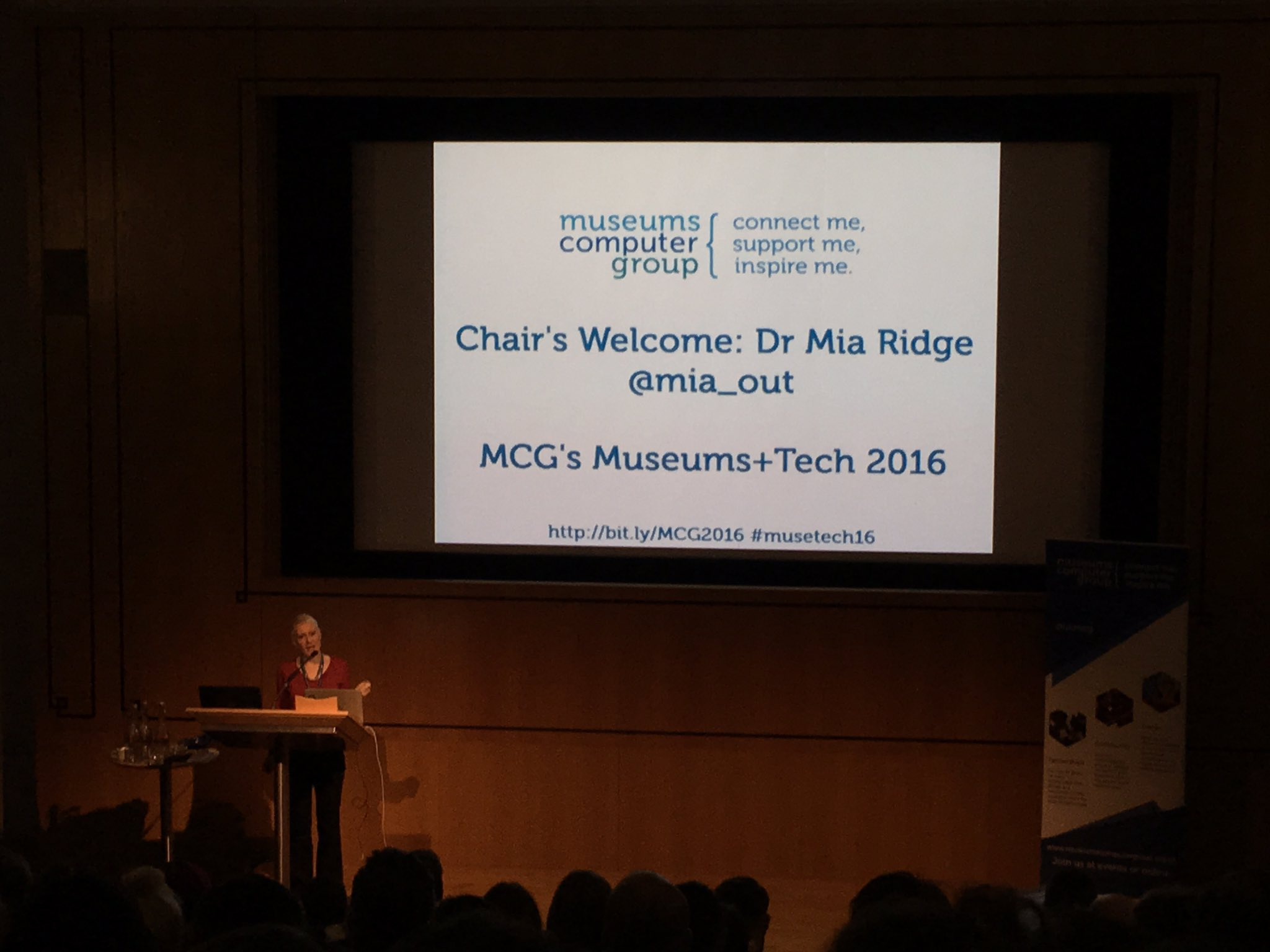 It's time to kick off one of our favourite conferences! @mia_out welcomes us to #musetech16 (formerly UKMW). https://t.co/tn8Tfbvhu1
