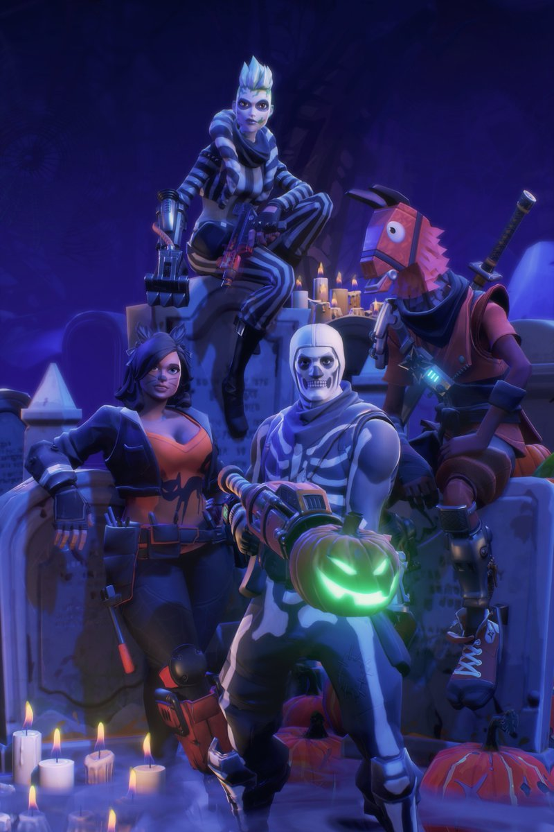 Halloween Fortnite Characters.Celia Hodent On Twitter Fortnite Ot9 Is Here And The
