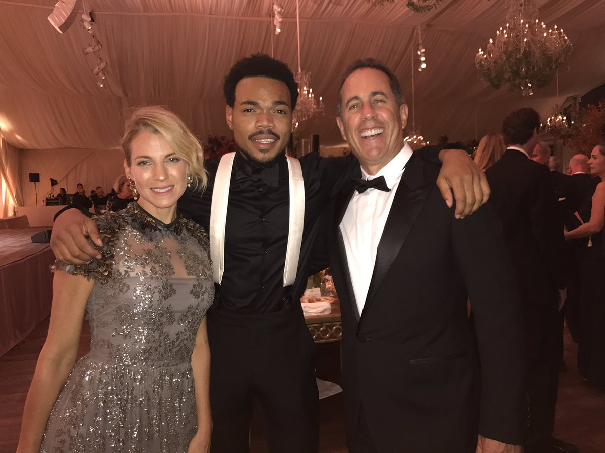 New family @chancetherapper @JerrySeinfeld https://t.co/WYibivhhHA