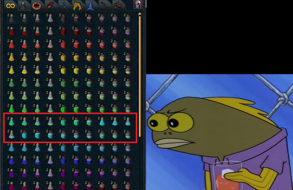 Runescape On Twitter We Wish Our Bank Were As Organised As This