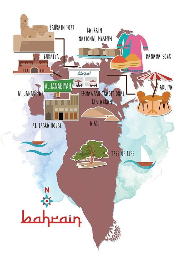 Some of the Amazing attractions of the beautiful Island of #Bahrain in the Arabian Gulf https://t.co/LtxpCTp70W
