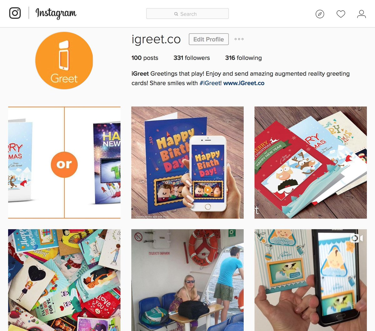 Igreet Ar Cards On Twitter Did You Know Were Also On Instagram