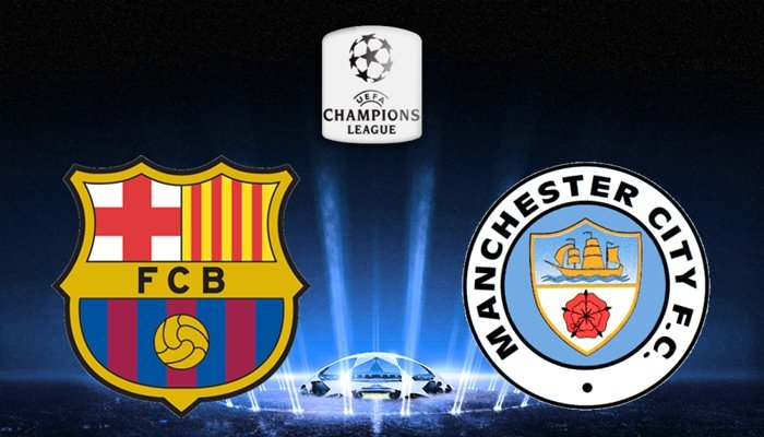 BARCELLONA-MANCHESTER CITY Streaming gratis Rojadirecta: info Calcio Live TV (Champions League), Diretta Canale 5?
