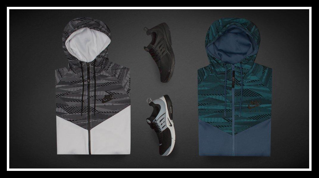 51d416ccf348 Nike Max Air Printed Hybrid Jacket + Nike Air Prestos ✅  pic.twitter.com w5DvsUvJS2