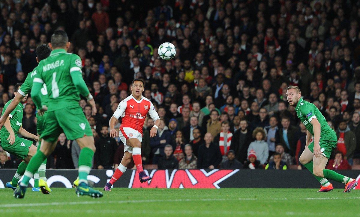 Arsenal 6-0 Ludogorets – Report