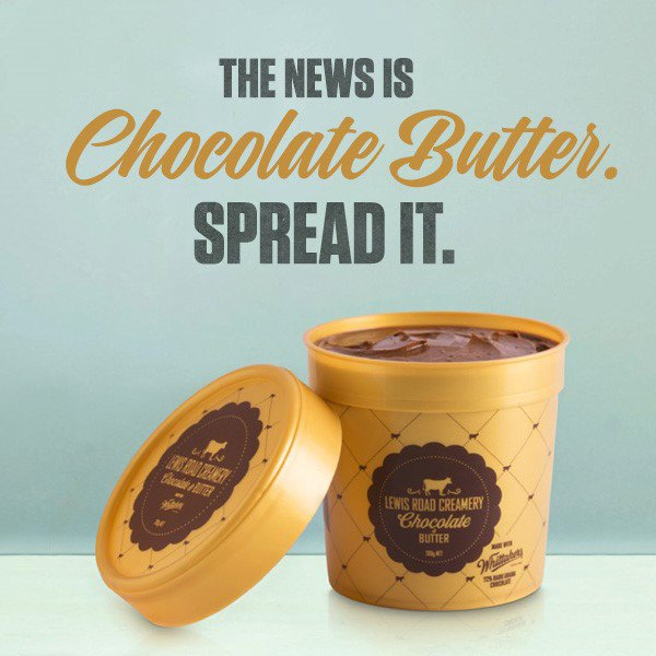 Hi Twhittaker's. We've combined our decadent chocolate with @lewisrdcreamery butter... Spread the love ☺️ https://t.co/kOAHjKY5fn
