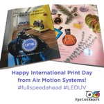Image for the Tweet beginning: We're celebrating @IntPrintDay at AMS,