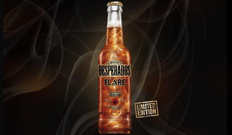 I S A B E L L E On Twitter Desperados Flare La Biere Qui Scintille Desperadosbeer Newproduct Beer Glitter