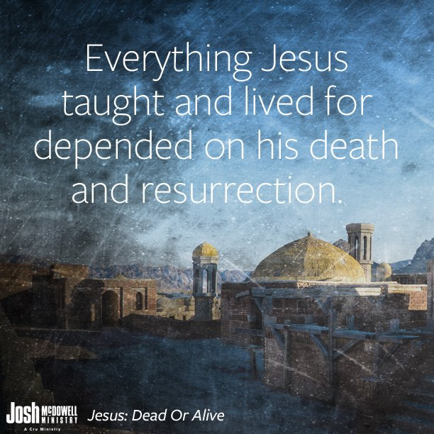 """The resurrection of Jesus is the single most important event in the history of the world."" https://t.co/vi2pE5q64B"