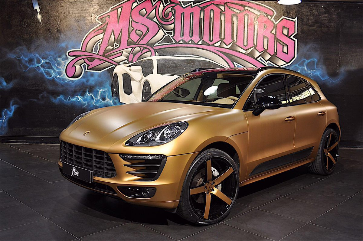 piero ms motors on twitter porsche macan gold edition by pieromsmotors msmotorscannes. Black Bedroom Furniture Sets. Home Design Ideas