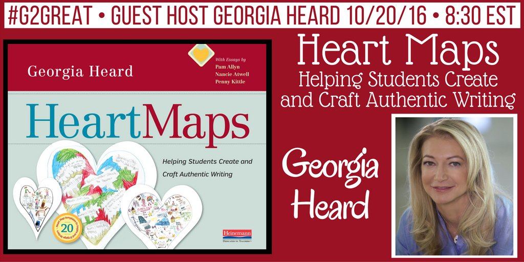 Join in our chat with @GeorgiaHeard1 @DrMaryHoward @hayhurst3 #g2great It starts now! https://t.co/QYaQJBPSvG