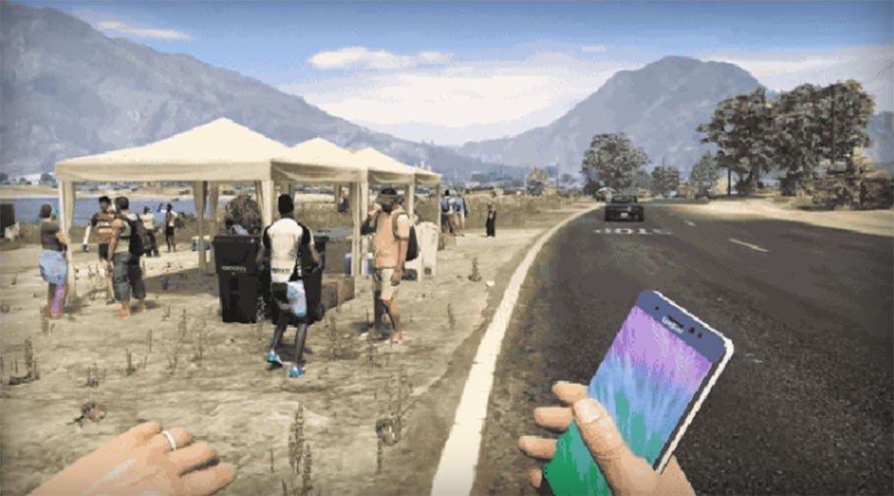 Videogiochi Online: Samsung Galaxy Note 7 usati come armi letali dai players GTAV