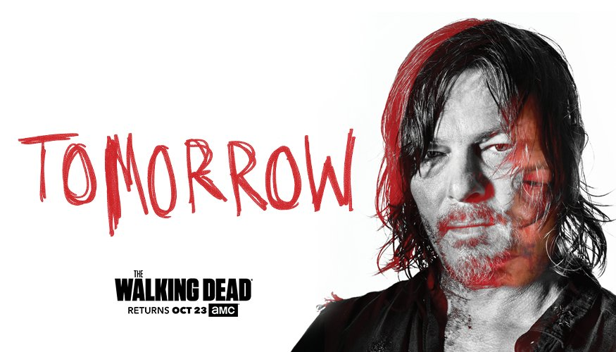 The group's fate will be revealed tomorrow at 9|8c. Don't miss the #TWD Season 7 Premiere.