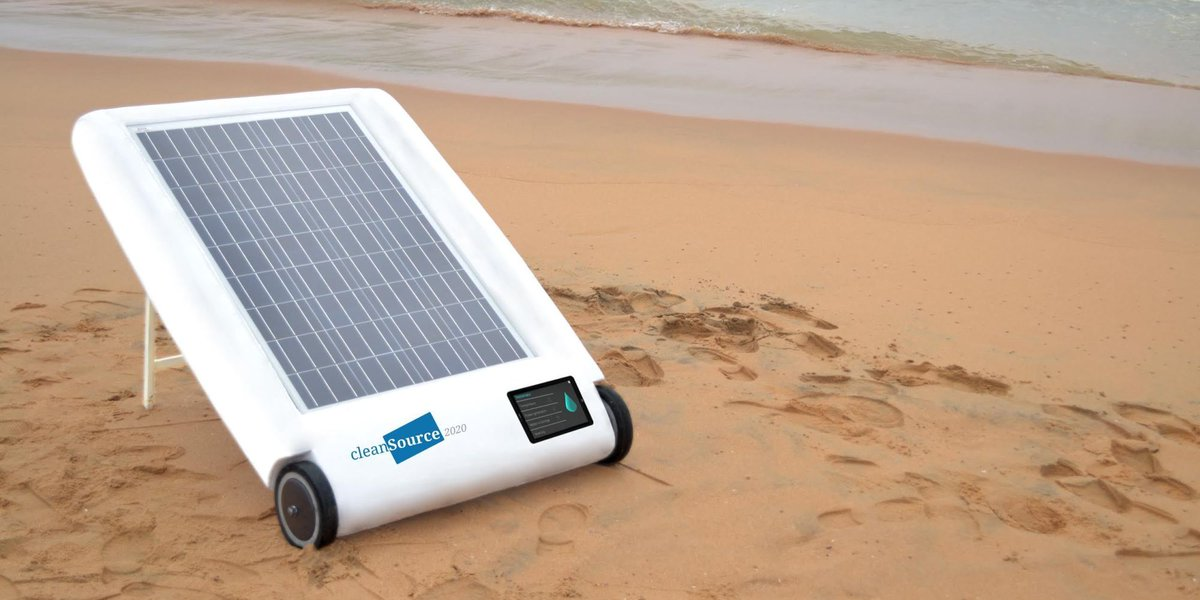 Hi @arikring, please be in touch with our #team and we get you on the list. @desolenator will be taken pre-orders soon!  #solar #desal #impact