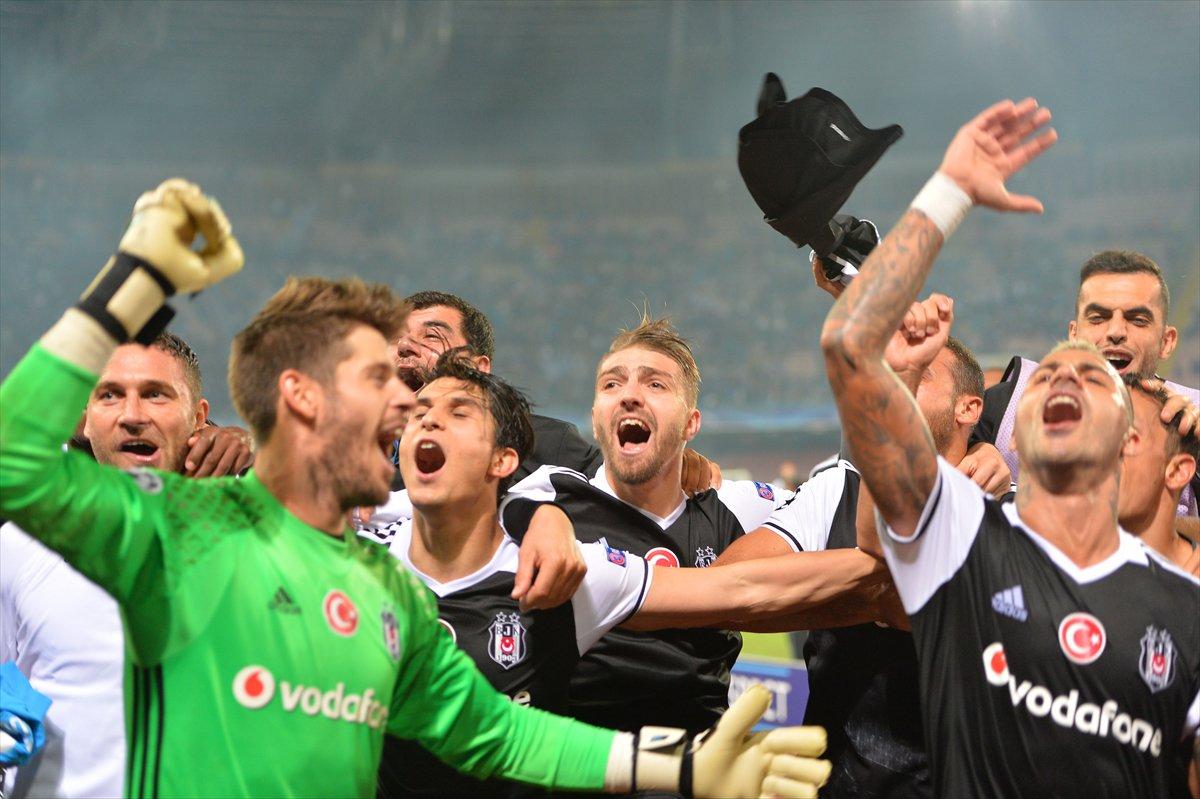 'Kapıyı aç bulutlar girsin. Gülmeyi bilen çocuklar geldi. ' #Beşiktaş