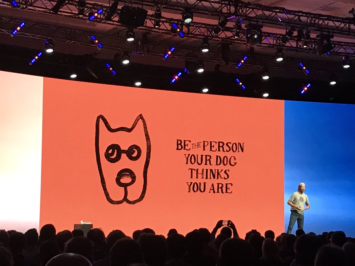 Be the person your dog thinks you are #GartnerSYM @lifeisgood https://t.co/g1ZJMBVlXh