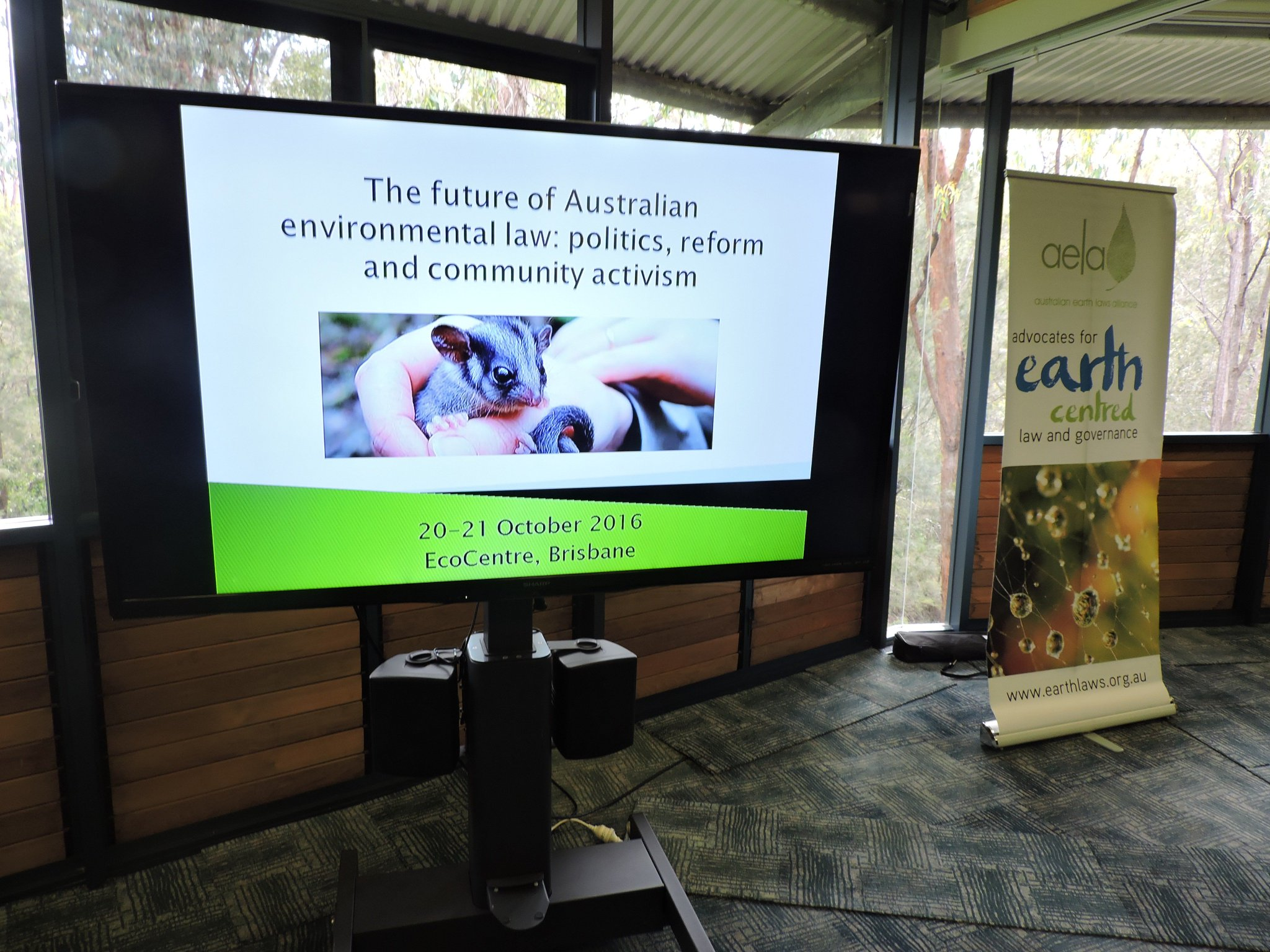 Thumbnail for The Future of Australian Environmental Law: Politics, Reform and Community Activism (Day One)