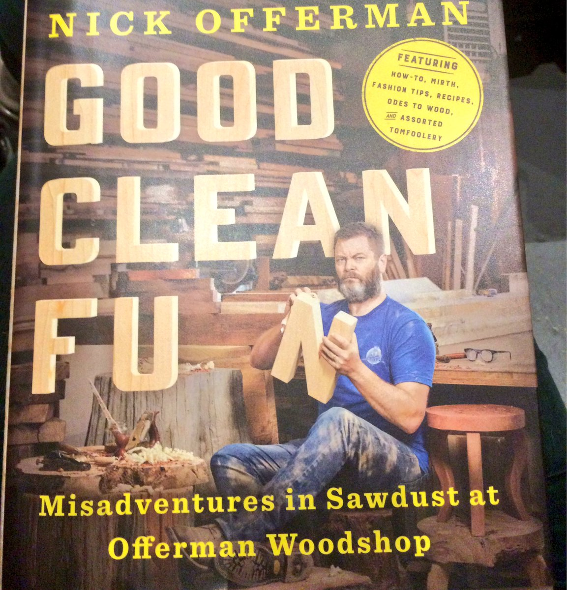 "nick offerman on twitter: ""atlanta join me this evening for"