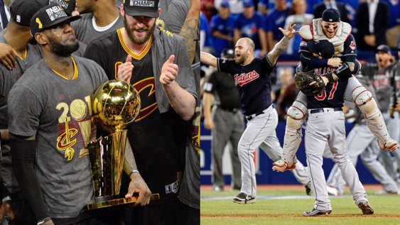 Believeland is a real place.  In just four months, a city that went 52 years without a title clinched one and is ab… https://t.co/oQBIP9jo8V