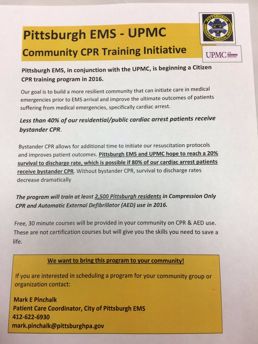 Ashleigh deemer on twitter live from the citywide ashleigh deemer on twitter live from the citywide pghpublicsafety meeting cpr saves lives pghems provides free compression cpr trainings for community xflitez Choice Image