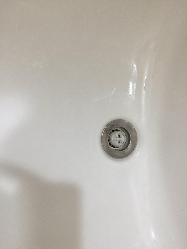 息子がお風呂で使ってるおもちゃ洗った後、なんか洗面台の水の流れが悪くて「あーなんか部品流しちゃったかな・・・」って思ってたらすべて流れ終わった後に現れたのがコレ心臓止まるかと思った pic.twitter.com/PokV2YlE5t