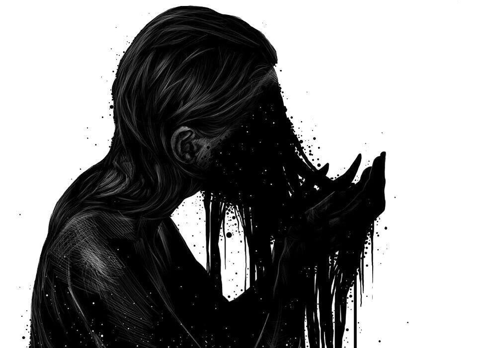 Мрачные и грустные картинки на аву