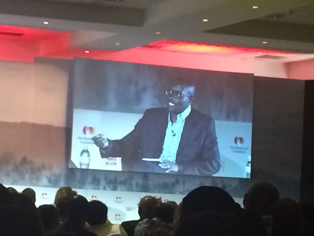 #SoFI2016 @KCBRwanda @KCBGroup Paul Kweheria speaking about the value created by KCB-Mpesa in fostering financial inclusion. https://t.co/Z5XKZ0IVOA