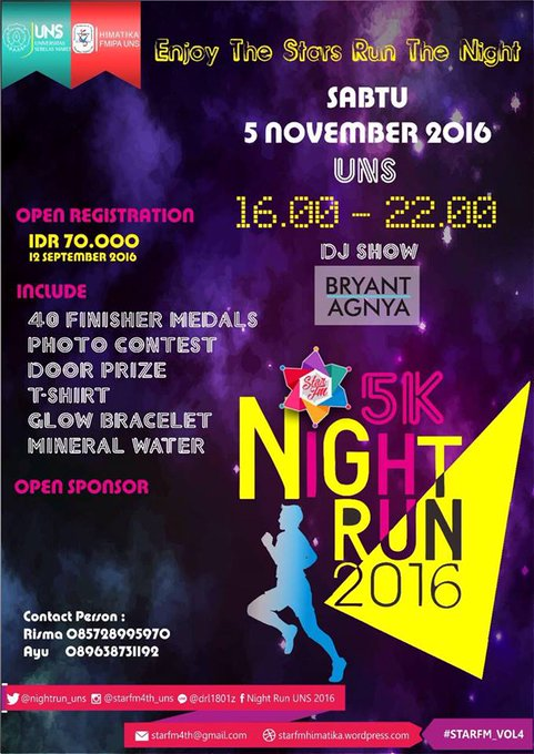 UNS Night Run • 2016