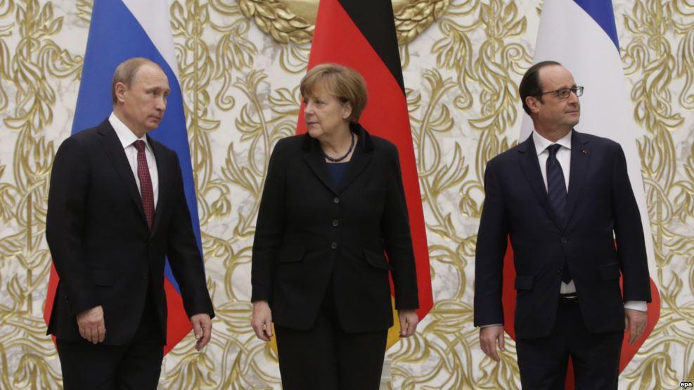 """Переговоры чудес не повлекли, - Меркель подчеркнула важность участия Путина во встречах """"нормандской четверки"""" - Цензор.НЕТ 559"""