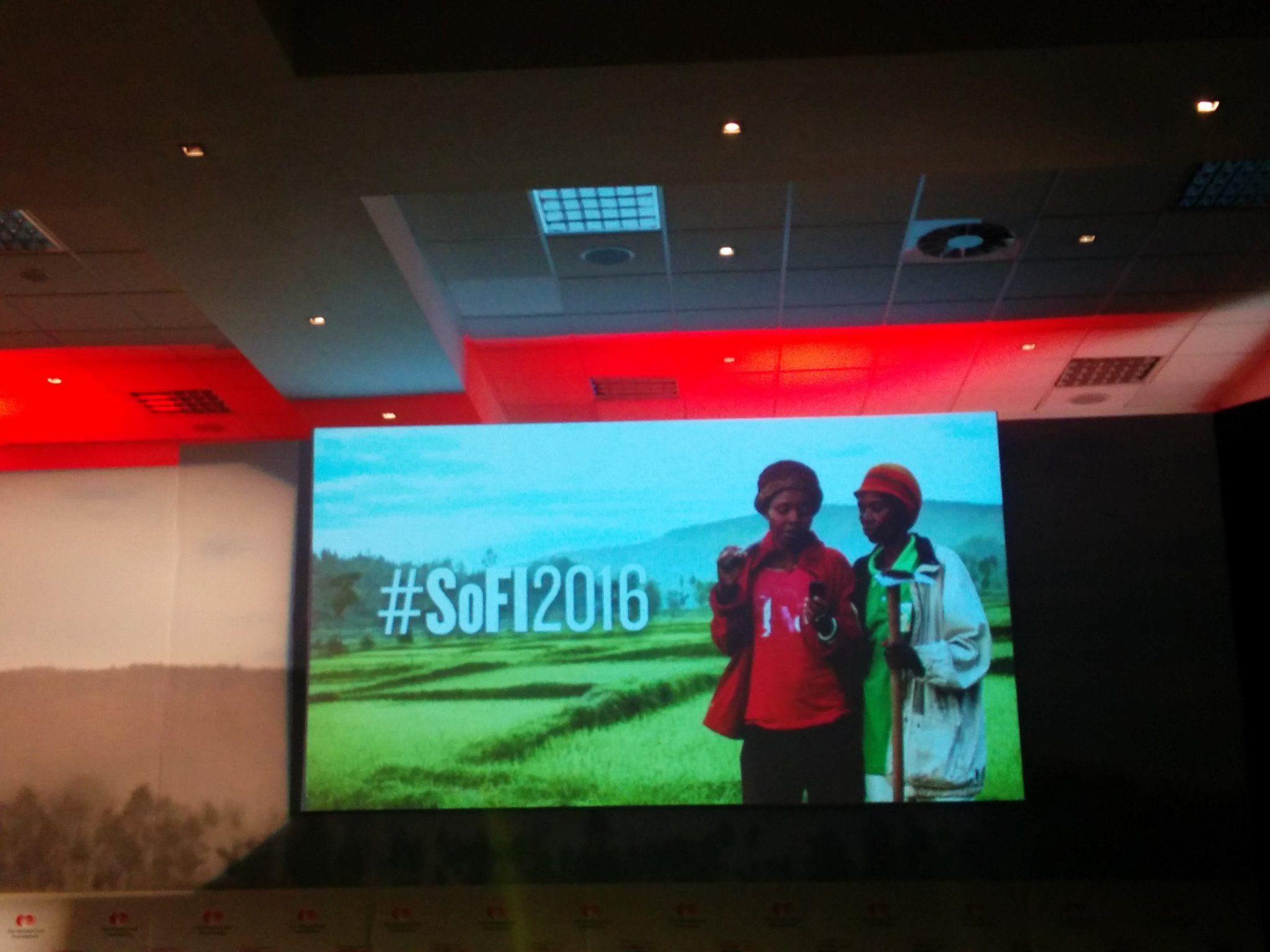 Vestine and Violette at the centre of our thinking at #SoFI2016. https://t.co/0gqKb9FXgI