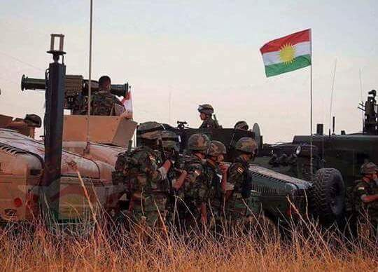 Peshmerga captured 6 villages and the town of Batnaya from ISIS, a Peshmerga commander to @K24English