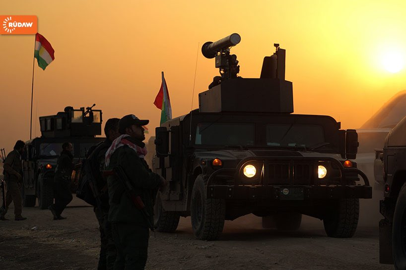 Peshmerga forces began a major offensive at dawn #MosulOffensive