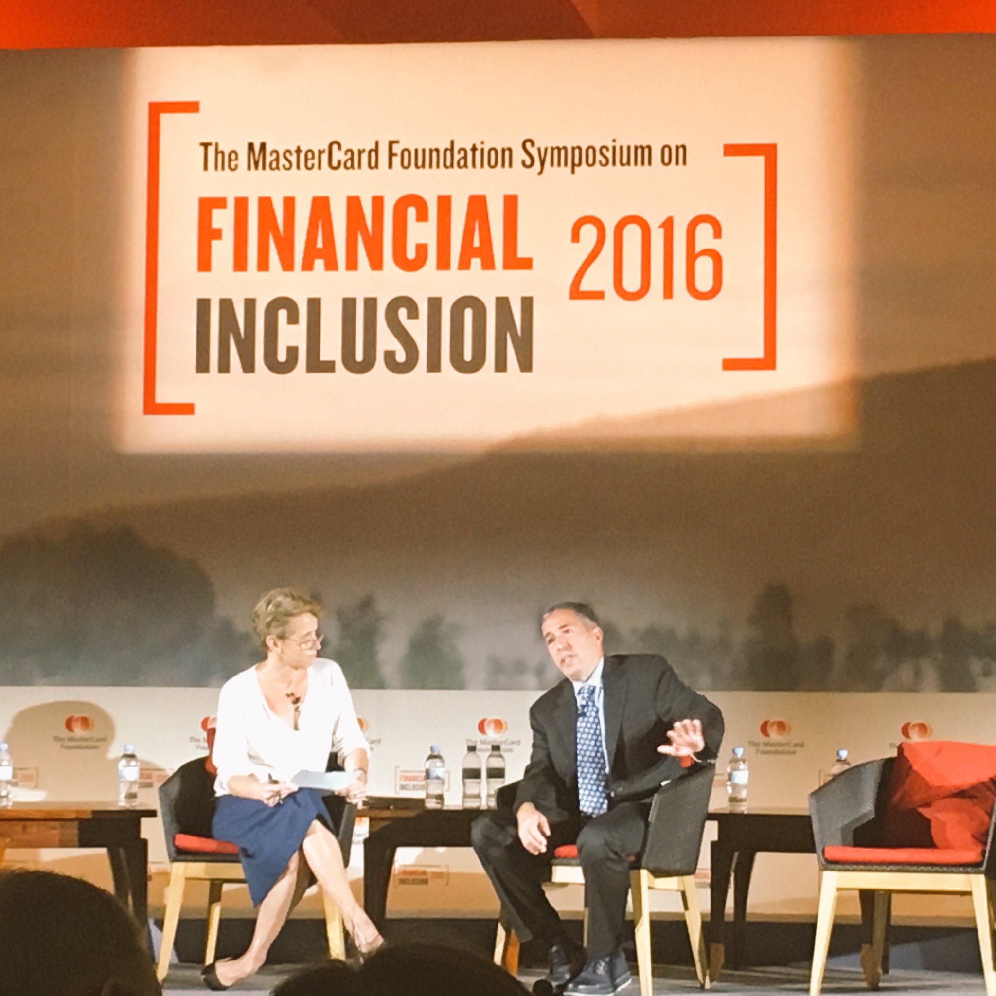 Eldar Shafir of @ideas42 & Greta Bull of @CGAP speak about scarcity & better design for financial services for poor #SoFI2016 https://t.co/9lHpMvpD6C